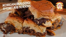 Korean Bulgogi Beef Short Rib Cheesesteak Sliders Recipe