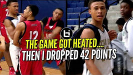 THE GAME GOT HEATED So - 1 YOUNG PG RJ Hampton Dropped 42 Points - Full Highlights