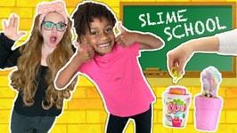 Slime School Students vs Silly Teacher! Teachers Day Off - New Toy School