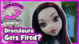 Monster High Doll Show My Roommates are Vampires Ep2