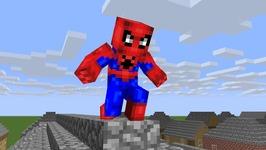 The Amazing Spiderman Life - Minecraft Animation