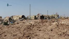 Witnesses Recount Aftermath of Airstrikes Targeting Refugee Camp Near Idlib