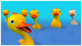 Six Little Ducks- Children's Popular Nursery Rhymes