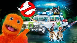 Fuzzy Ghostbusters 4 Get Green Slimed! Frizbee Learns About Honesty!