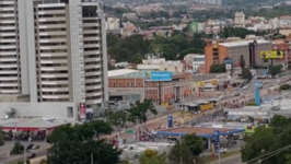 Opposition Supporters Set Off Firecrackers, Noisemakers in Tegucigalpa