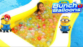 1000 Bunch O Balloons Water Balloons Fight for Kids Despicable Me 3 Family Fun Activities