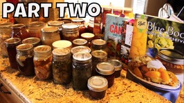 Things I Have Canned And My Future Canning Projects