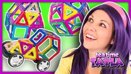 Learn Shapes and Colors for Kids with Building Block Toys for Children