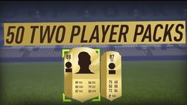 Opening 50  Two Player Packs-- Some Great Pulls-- Fifa 18 Ultimate Team