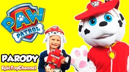 Paw Patrol Marshall In Real Life  Marshalls Pup Pack Toy Real Life Size Paw Patrol
