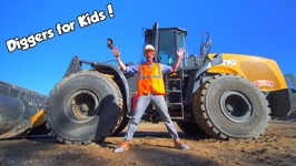 Diggers for Kids - The Wheel Loader Construction Truck