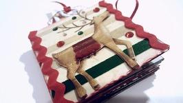3x3 CHRISTMAS MINI BOOK  PAPER CRAFTS