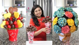 How to Make Edible Bouquet Chocolate Coated Strawberries