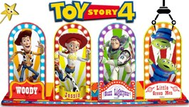 Toy Story 4 CARNIVAL GAMES Bean Bag Toss Game WIN SURPRISE MOVIE TOYS