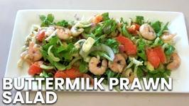 Buttermilk Prawn Salad