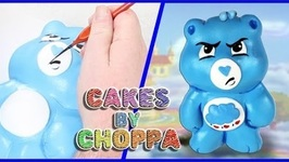 Grumpy Bear CAKE - Care Bears (How To)  Feat: Alonzo Lerone