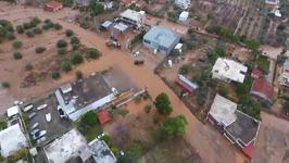 Drone Footage Shows Severe Athens Flooding That Left At Least 14 Dead