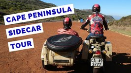 Cape Peninsula Tour by Sidecar - South Africa Travel Vlog