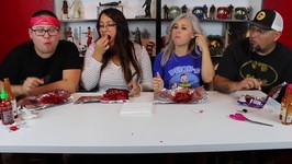 Hottest Takis Ever Challenge - Parents Edition -Do Not Try 6 Hot Sauces