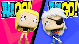 Teen Titans Go Funko Pop Complete Set Of Villains And Superheros With Rose Wilson