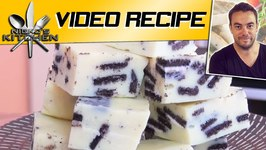 Oreo White Chocolate Fudge