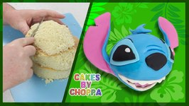 Stitch Cake   Disney's Lilo and Stitch (How To)