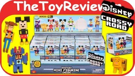 Full Case Disney Crossy Road Mystery Mini Figurine Blind Box Bag Unboxing Toy Review