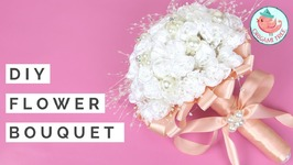 Wedding Bouquet Tutorial - How to Make DIY Flower Bouquet for Weddings And Spring - Real/Fake Flowers