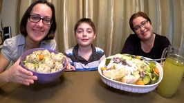 Grandmother's Matzo Ball Soup - Chicken And Dumplings Soup /Gay Family Mukbang - Eating Show