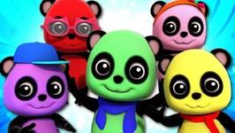 Five Little Pandas - Baby Bao Panda - Songs For Children