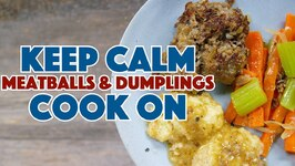Meatballs And Dumplings 1930 Depression Era Recipe - Old Cookbook Show
