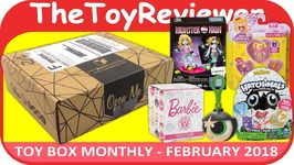Toy Box Monthly February 2018 Girls Blind Bag Subscription Box Unboxing Toy Review