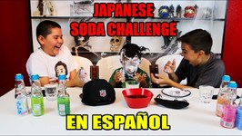 JAPANESE SODA CHALLENGE in SPANISH and ENGLISH