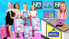 Toy Hotel Loses Kid's Luggage