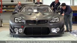 BMW Art Car 18 Cao Fei Feature