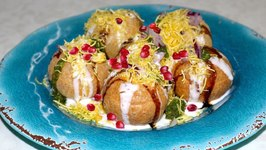 Dahi Sev Puri Video Recipe - Indian Street Food