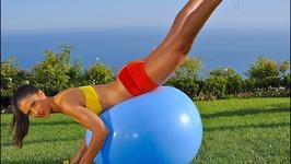 Butt Workout - Bigger Butt Workout - Butt Workout with Swiss Ball - Butt Workout with Fit Ball