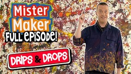 Drips And Drops - Mister Maker's Arty Party