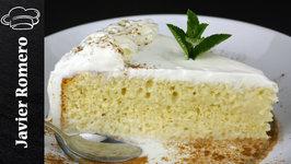 Como hacer tarta tres leches con receta del bizcocho.