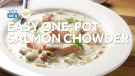 Easy, Creamy One-Pot Salmon Chowder