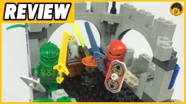 Citadel Of Orlan Review - Lego Knights Kingdom II - 8780