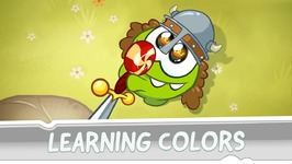 Learning Colors with Om Nom - Coloring Book - Middle ages