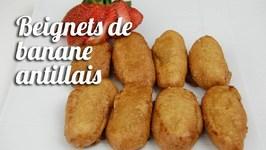 Beignets De Banane Antillais
