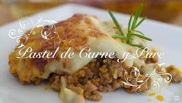 Pastel De Carne Y Pure De Patatas Al Microondas / Pastel De Carne Con Pure De Patatas