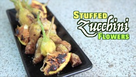 Stuffed Zucchini Flowers - Rule Of Yum Recipe