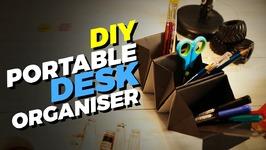 DIY Portable Desk Organizer