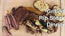 Rib Steak On The Otto Wilde OFB Grill
