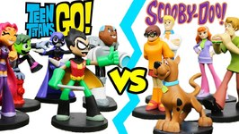 Teen Titans Go Vs Scooby Doo Hero World Exclusives Hunt For Missing Batman Parody By Epictoychannel
