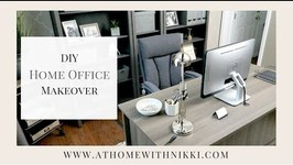 Home Organization Ideas  Masculine Home Office Makeover  My Husband's New Home Office