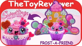 Sweetlings Frost-a-Friend Princess Alex DIY Clay Craft Kit HER Unboxing Toy Review